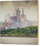Stephen King Fog Plant Wood Print