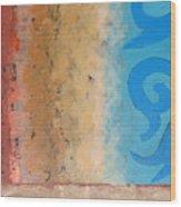 Steppe Oasis Wood Print