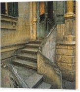 Steps. Wood Print by Tarek Charara