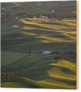 Steptoe Butte 16 Wood Print