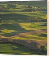 Steptoe Butte 6 Wood Print