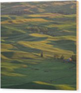 Steptoe Butte 9 Wood Print