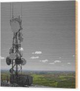 Steptoe Butte Overlooking The Palouse - Eastern Washington State Wood Print