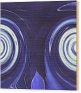 sTereo gRaphic-Jones'd Wood Print