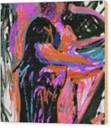 Sterlin At Blue Nite Wood Print