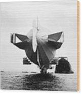 Stern Of Zeppelin Airship - 1908 Wood Print