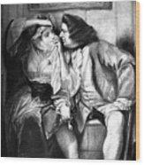 Sterne: Tristram Shandy Wood Print