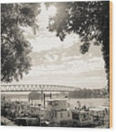 Sternwheel Festival - Marietta, Ohio Wood Print