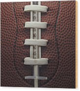 Steroid Use In Football Wood Print