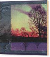 Stetson Overlook Wood Print
