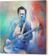 Steve Lukather 01 Wood Print