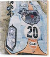 Steve Mcqueens Porsche 917k Le Mans Wood Print