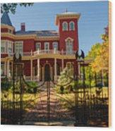 Steven King Home Bangor Maine 1 Wood Print