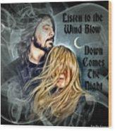 Stevie Nicks - Dave Grohl Wood Print