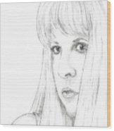Stevie  Wood Print
