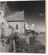 Stevns Klint Wood Print