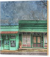Stewards General Store And Post Office Wood Print
