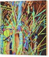 Stick Of Color Wood Print