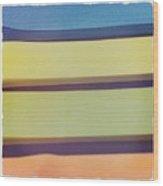 Sticky Stripes Wood Print