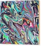 Stickyfinger Wood Print