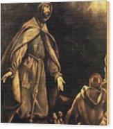 Stigmatisation Of St Francis Wood Print