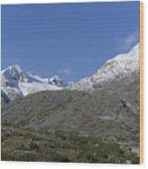 Stikine Mountains 2 Wood Print