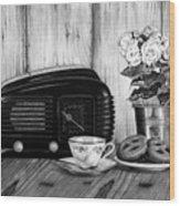 Still Life, Breakfast Wood Print
