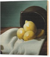 Still Life Painting Three Beauties Wood Print