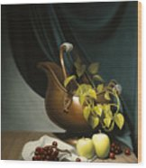 Still Life Painting Zanndam Evening Wood Print