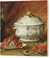 Still Life With A Soup Tureen Wood Print