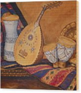 Still Life With Arabian Oud Wood Print