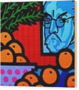 Still Life With Henri Matisse Wood Print