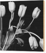 Still Life With Tulips Wood Print