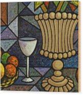Still Life With Vase Wood Print
