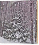 Still Standing Tall Wood Print