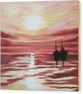 Still waters run deep Wood Print
