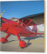 Stinson Reliant Rc Model 03 Wood Print