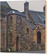 Stirling Castle Courtyard, Scotland Wood Print