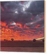 Stirling Ranges Sunrise Wood Print