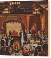 St.mary/marshall Wedding Wood Print