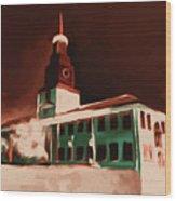 Stock Yards National Bank 537 3 Wood Print