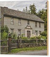 Stockbridge Mission House Wood Print