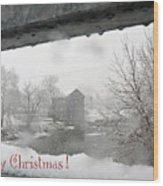 Stockdale Christmas Wood Print