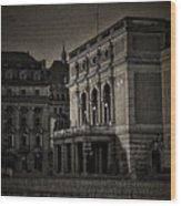The Royal Swedish Opera Wood Print