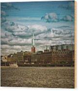 Stockholm Ix Wood Print