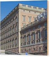 Stockholm Royal Palace  Wood Print