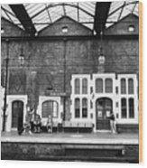 Stoke-on-trent Railway Station Uk Wood Print