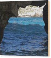 Stone And Sea 2 Wood Print