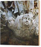 Stone Angels Wood Print