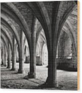 Stone Arches Wood Print